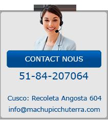 Contact Nous Chemin Inca