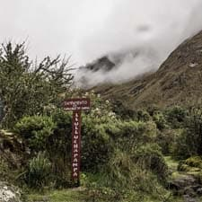 Permis du Chemin Inca