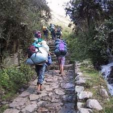 Porter Bien-être sur le Chemin Inca