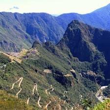 Le paysage du sanctuaire historique de Machu Picchu