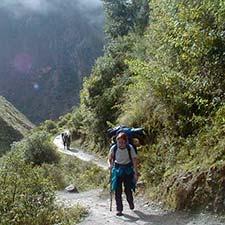 Disponibilité en ligne Chemin Inca au Machu Picchu 2021